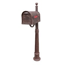 Hummingbird Mailbox with Post Included