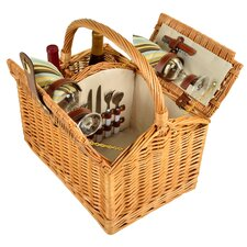 Vineyard 2 Person Picnic Basket
