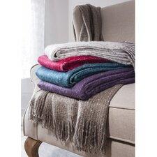 Madison Faux Mohair Throw Blanket