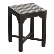 Todd Inlay Chess End Table by Bungalow Rose