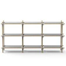 Stick System 37.7 H Three Shelf Shelving Unit by Menu