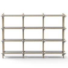 Stick System 52.5 H Four Shelf Shelving Unit by Menu