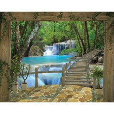 View Waterfall 2.44m x 3.05m Wall Mural