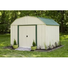 Sheridan 10 ft. W x 8 ft. D Metal Storage Shed