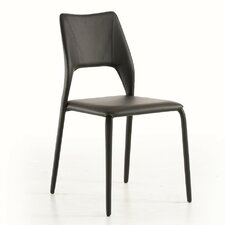 Juno Genuine Leather Upholstered Dining Chair