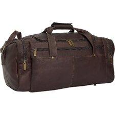 "19"" Leather Classic Travel Duffel"
