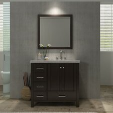 Laureldale 37 Single Bathroom Vanity Set with Mirror by Red Barrel Studio