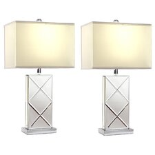 """Rory 25"""" Table Lamp Set (Set of 2)"""