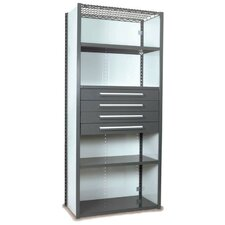 V-Grip 84 Shelving with Drawers Unit by Equipto