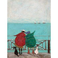 Gerahmtes Leinwandbild We Saw Three Ships Come Sailing von Sam Toft