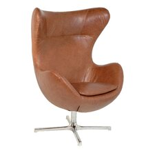 Muna Egg Shape Lounge Chair by La Viola Décor