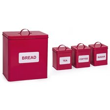 4-Piece Storage Tin Set