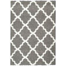 Garen Moroccan Trellis Shag Doormat