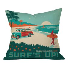 Anderson Design Group Surfs Up Indoor/Outdoor Throw Pillow by DENY Designs