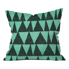 Nick Nelson Analogous Shapes Indoor/Outdoor Throw Pillow