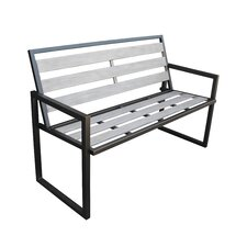 Dolton Steel Garden Bench
