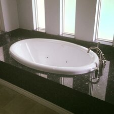 58 x 39 Air Bathtub by American Acrylic