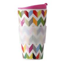 Ziggy 16 Oz. Porcelain Traveler Mug
