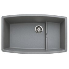 "Performa 32"" x 19.5"" Cascade Kitchen Sink"