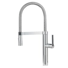 Culina Single Handle Deck Mounted Kitchen Faucet with Dual Spray