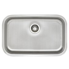 stellar 28 x 18 ada single bowl kitchen sink - Ada Kitchen Sink