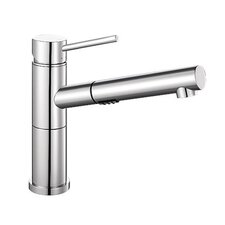 Alta Single Handle Deck Mounted Standard Kitchen Faucet with Dual Pull Out Spray