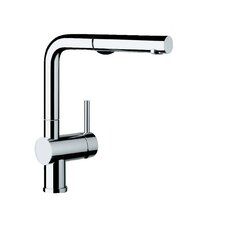 Linus Single Handle Deck Mounted Kitchen Faucet with Dual Pull Out Spray