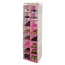 16-Compartment Hanging Shoe Organizer