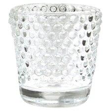 Hobnail Glass Candle Holder (Set of 6)