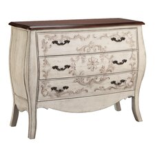 Fiona 3 Drawer Accent Chest by Stein World