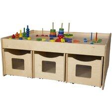 "Island 44"" Rectangular Storage Table"