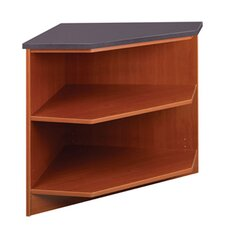 Library Outside Corner Shelving Unit by Stevens ID Systems