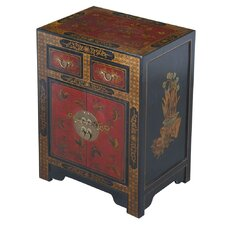 Handmade Oriental Antique End Table