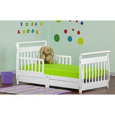 Toddler Sleigh Bed with Storage