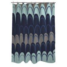 Mila Mountains Shower Curtain