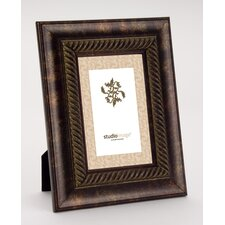 quick view rope rust gold picture frame