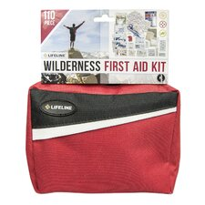 110 Piece Wilderness Pack First Aid Kit