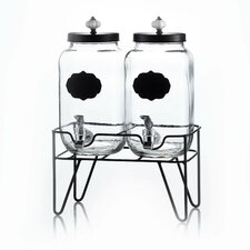 Main St Manchester 3.1 Litres Beverage Dispenser (Set of 2)