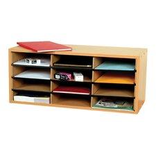 12 Section Literature Organiser