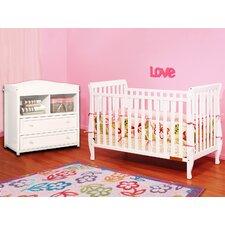Naomi 4-in-1 Convertible 2 Piece Crib Set