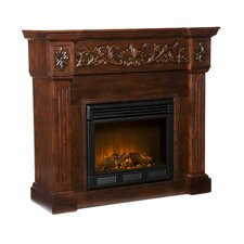 "Curti 45"" TV Stand with Electric Fireplace"
