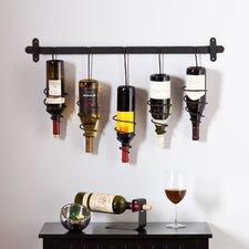 Carsten 5 Bottle Wall Mounted Wine Rack