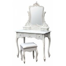 Estelle Dressing Table and Stool