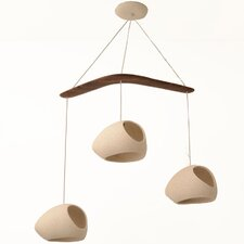 Claylight 3-Light Pendant