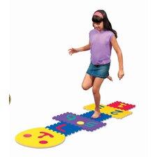 Smiley Hopscotch Game Set
