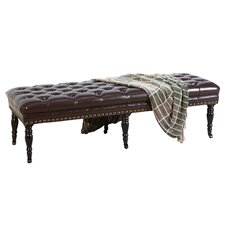 Isaako Tufted   Entryway Bench by Home Loft Concepts
