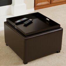 Melbourne Tray Top Ottoman by Home Loft Concepts