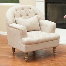 Loria Tufted Barrel Chair by Home Loft Concepts