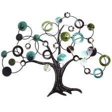 metal abstract tree wall dcor - Metal Tree Wall Decor