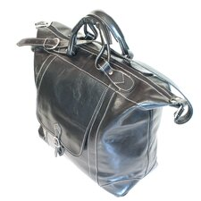 """Tack 16"""" Leather Travel Duffel"""